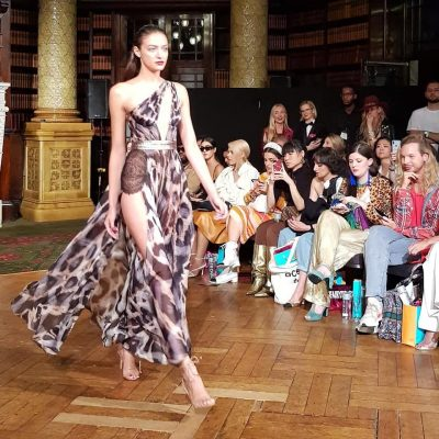 INCREDIBLE LFW SS20 AADNEVIK 'SPIRIT OF THE WILD' CATWALK
