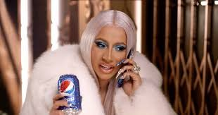 Cardi B in Christmas Commercial for PEPSI