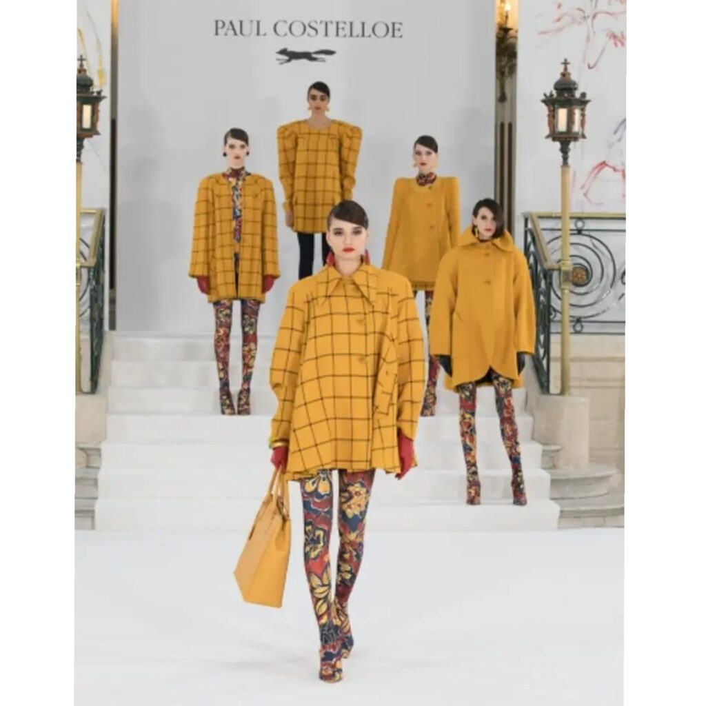 PAUL COSTELLOE AUTUMN/WINTER 2021 LONDON FASHION WEEK