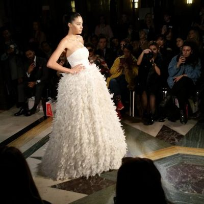 BARRUS LFW AW17 COUTURE CATWALK