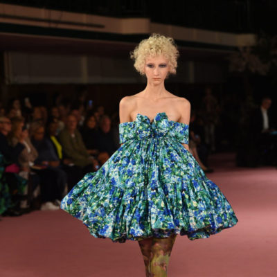 THE EXTRAVAGANT DREAM-WORLD OF RICHARD QUINN LFWSS20 COLLECTION INSPIRED BY ROYALTY